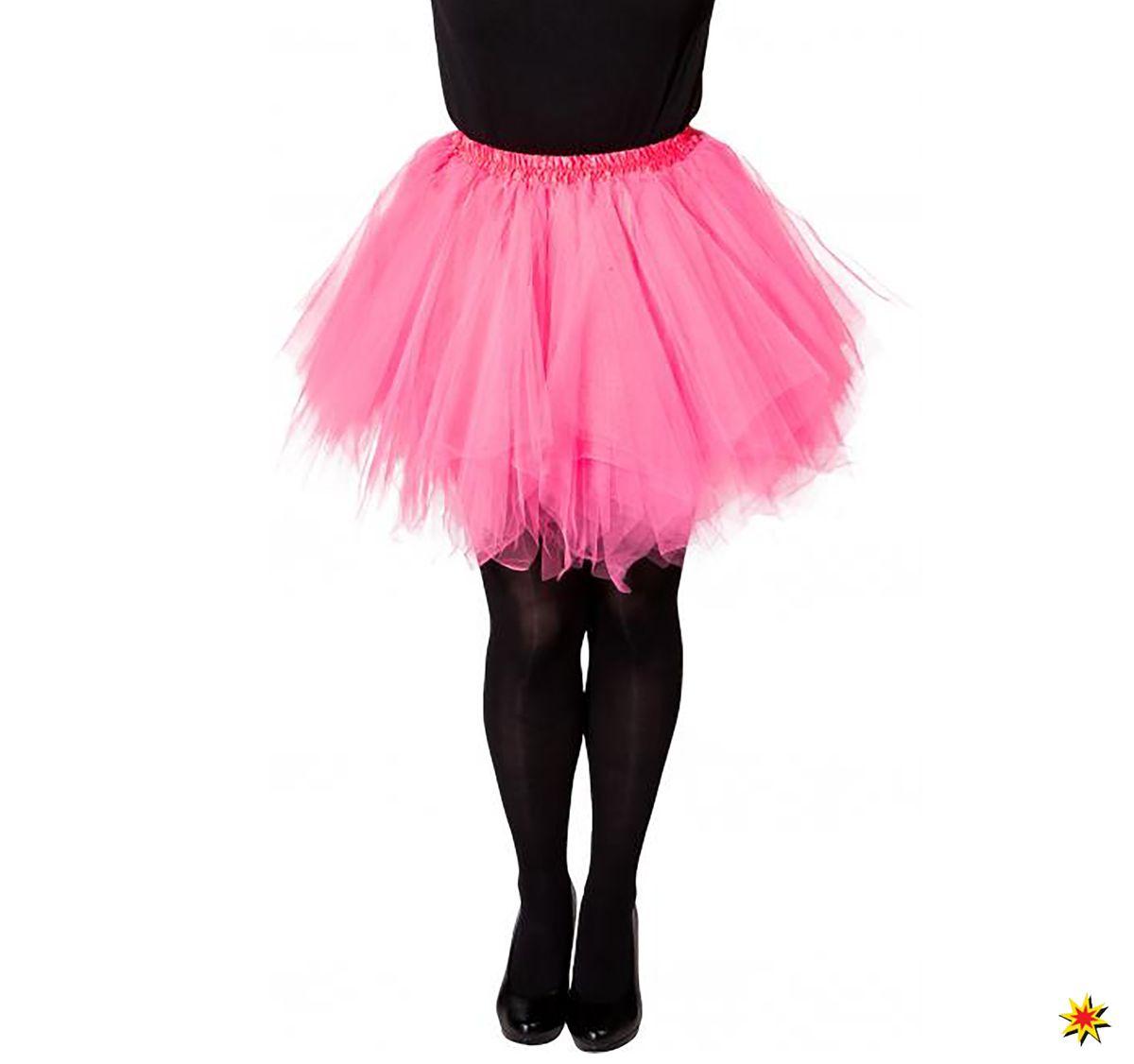 outlet store 328bf d2928 Damen Kostüm Rock Tutu rosa Flamingo