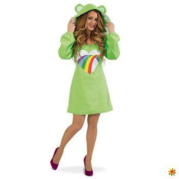2. Wahl Damen Kostüm Bärli, Kleid grün