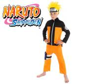 Kinder Kostüm Naruto Shippuden inkl. Perücke Manga Anime Fasching Karneval Mottoparty