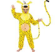 Unisex Kinder Kostüm Marsupilami Comicheld Tierkostüm Fantasie Fabeltier Fasching Karneval