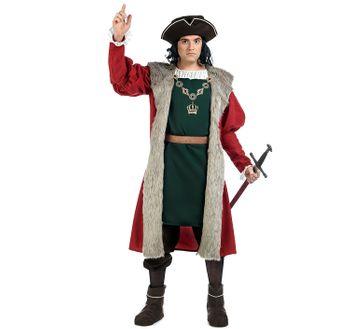 Herren Kostüm Christoph Kolumbus Seefahrer