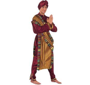 Herren Kostüm Hindu Brahma Bollywood Star Maharadscha