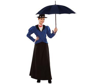 Damen Kostüm englisches Kindermädchen Nanny