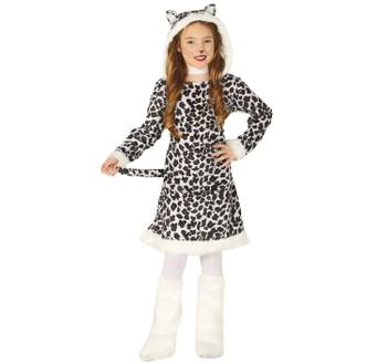 Kinder Kostüm Leopard Kleid Katze Zuri