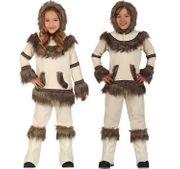 Unisex Kinder Kostüm Eskimo Marte