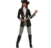 Damen Kostüm Piratin Mea Seeräuberin