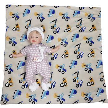 Baby Krabbeldecke Spieldecke flauschig 78 x 78 cm Laufgittereinlage