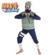 Kakashi Hatake Kostüm für Herren Gr. M-L Naruto Shippuden Manga Mottoparty Fasching Karneval