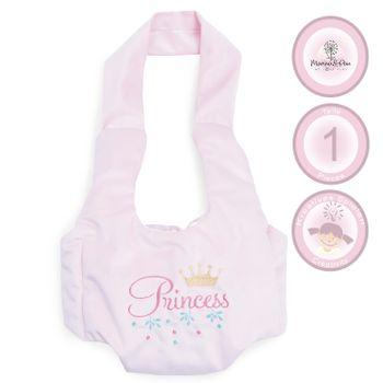 Puppentrage Princess Baby vorne rosa Puppen-Zubehör