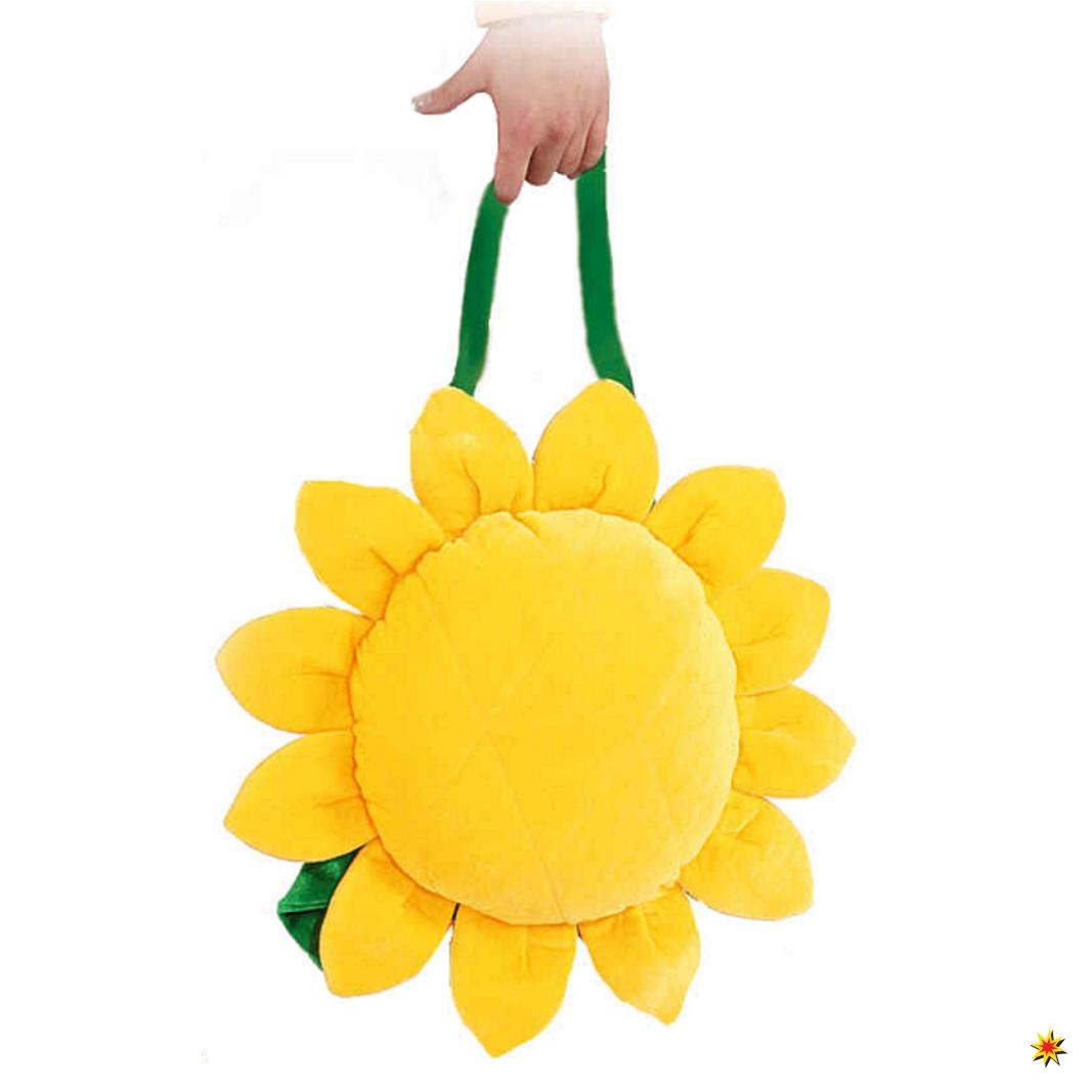 Tasche Gelb Sonnenblume Hippietasche Fasching