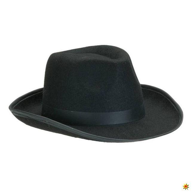 Klassischer Hut Schwarz 50er Jahre Hüte kaufen bei Krause & Sohn
