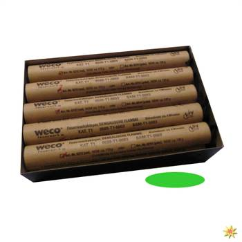 Bengalfackel grün, 4 Minuten, Zylinderflamme