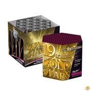 Feuerwerk Batterie Gold Stars 20 Sekunden von Weco
