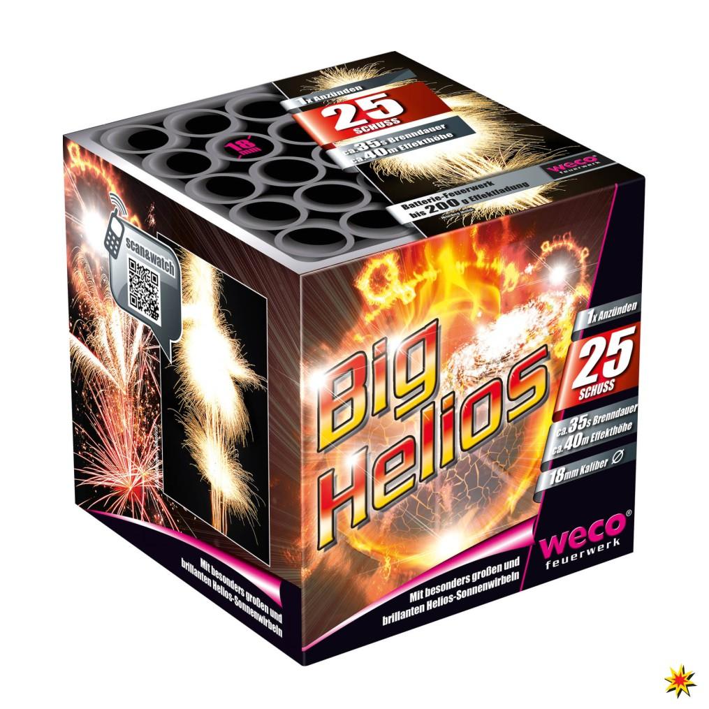 Weco Big Helios Feuerwerk Onlineshop Geburtstagsfeuerwerk Hochzeitsfeuerwerk