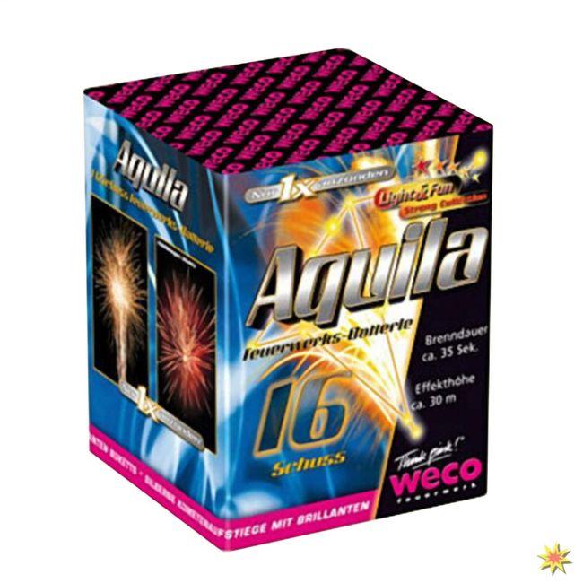 Weco Aquila Feuerwerk Onlineshop Geburtstagsfeuerwerk Hochzeitsfeuerwerk