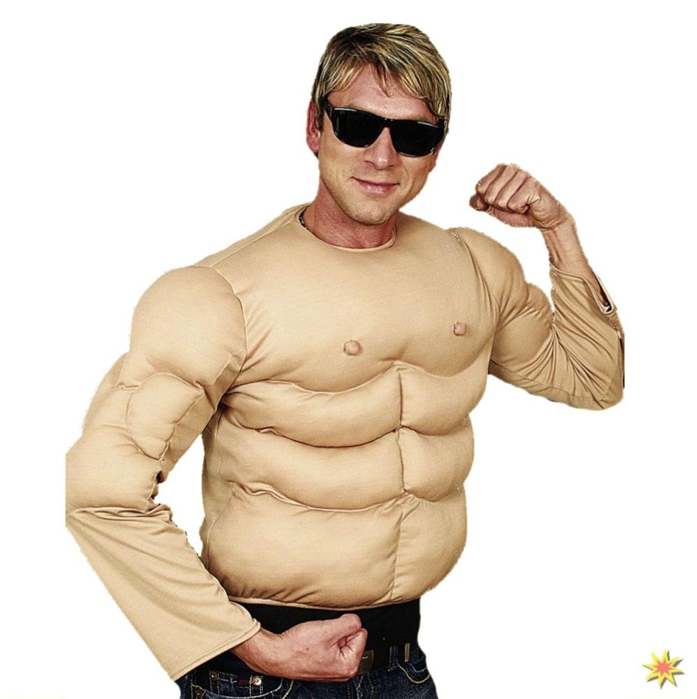 Spass Kostum Muskel Shirt Universalgrosse