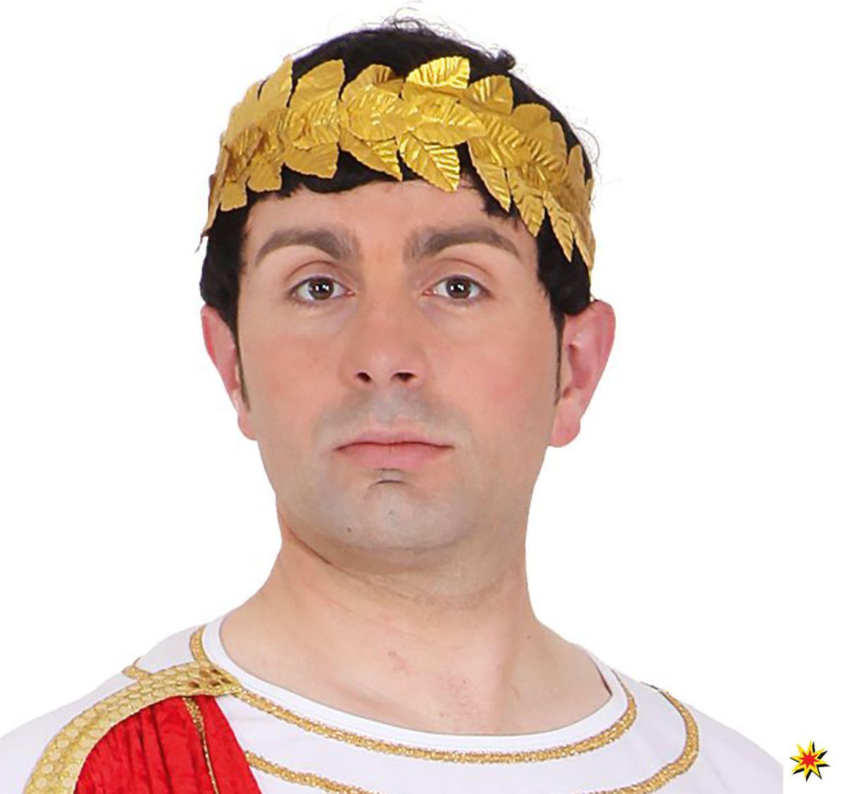 Lorbeerkranz Caesar Siegerkranz Römer Kostüm-Zubehör Accessoire Fasching Karneval Mottoparty