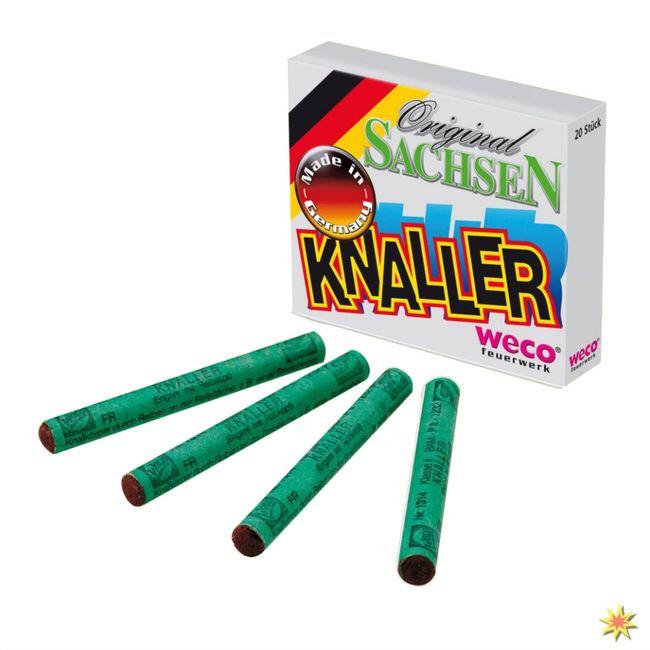 Original-Sachsen-Knaller, Feuerwerk