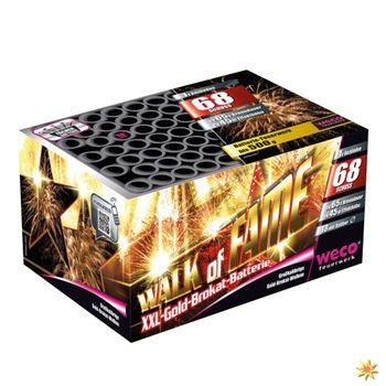 XXL Feuerwerk Batterie Walk of Fame 65 Sek. von Weco