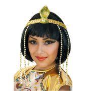 Cleopatra Stirnband Ägypter Kopfschmuck Zubehör für Damen Fasching Karneval Mottoparty