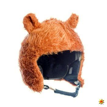 Skihelm Cover Pistenbär, Helm-Überzug