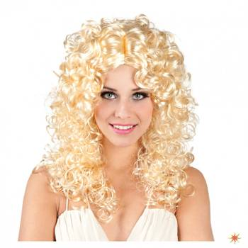Engel Perücke Norah, blond Locken