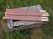 50 Qualitätsfackeln 70 Min. Brennzeit 40cm Fackel Made in Germany Wachsfackel