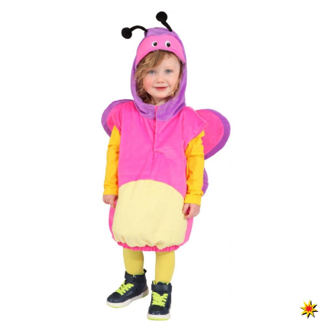 Kinderkostüm Schmetterling Kinder Weste Butterfly Fasching Karneval