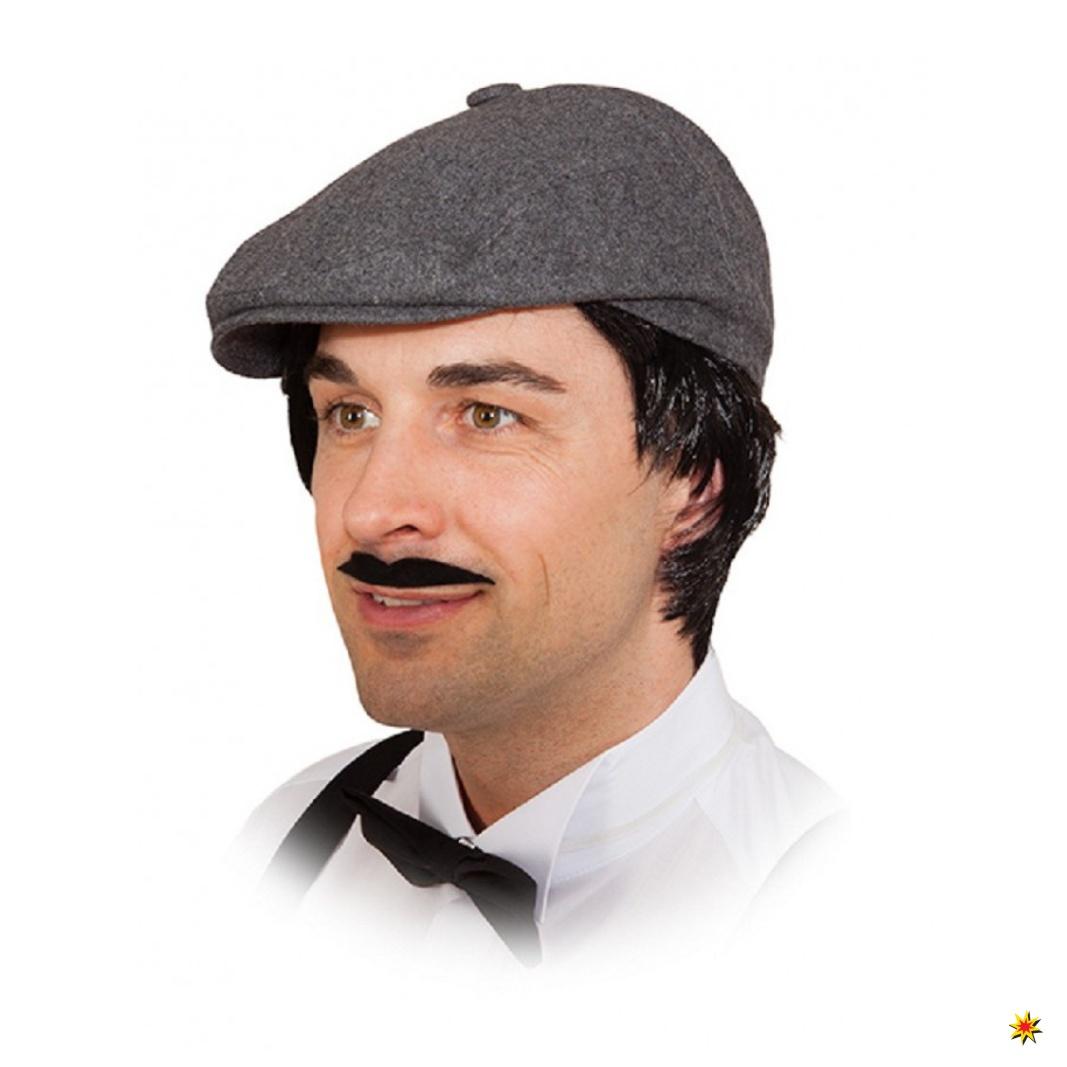 mütze grau zwaniger jahre kostüme zubehör karneval