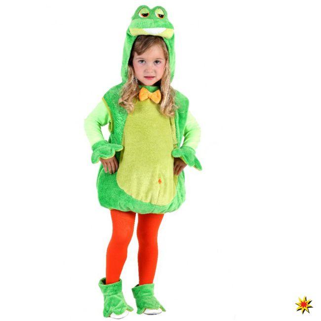 Kostüm Frosch Quaki  Karneval Fasching Kinderkostüm Tier Kröte