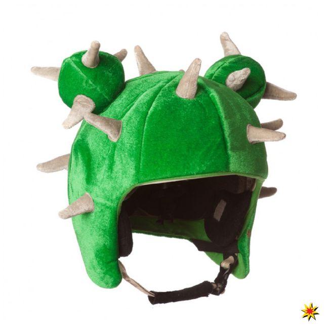 Skihelm Verkleidung Kaktus Helm Cover Überzug Snowboardhelm Ski-Fasching