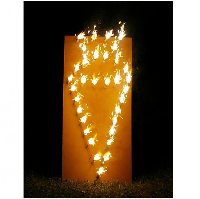 Lichterbild Zuckertüte Lichterbilder Feuerwerk Schulanfang Einschulung Geschenkidee ABC-Schütze Erstklässler