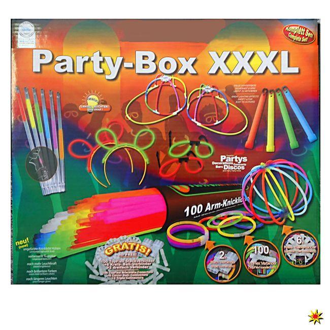 Knicklichter Party-Box