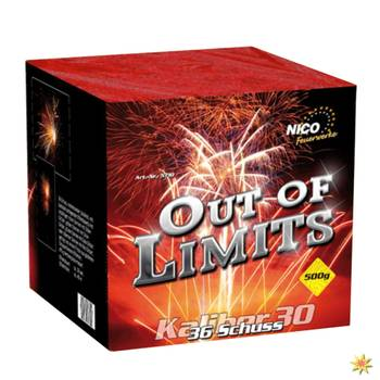 Batteriefeuerwerk Out of Limits 30 Sek. von Nico
