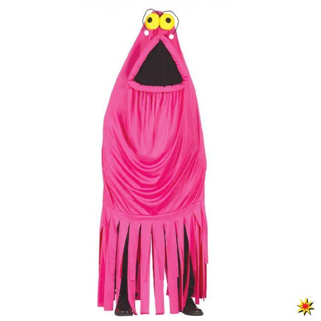 Kostüm Qualle pink Monster Spaßkostüm Fasching Tintenfisch