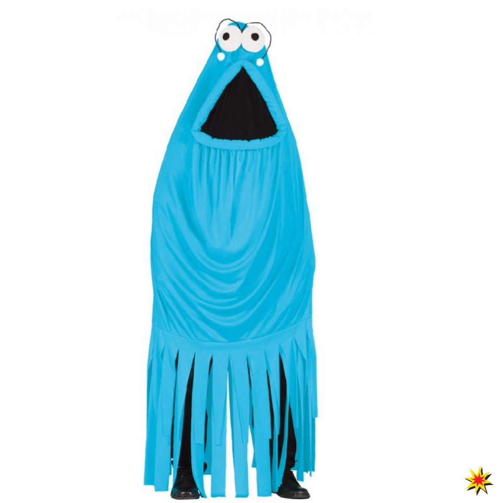 Kostum Qualle Monster Blau