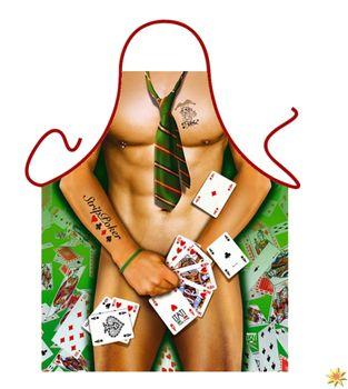 Grillschürze Strip Poker Man