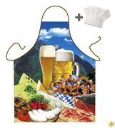 Set: Kochmütze und Schürze Brotzeit