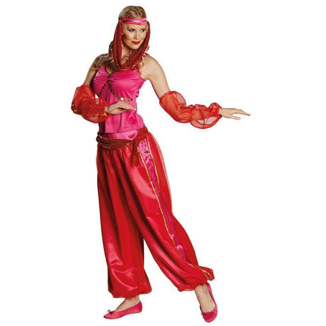 Damen Kostüm Jeanie 1001 Nacht Fasching Karneval