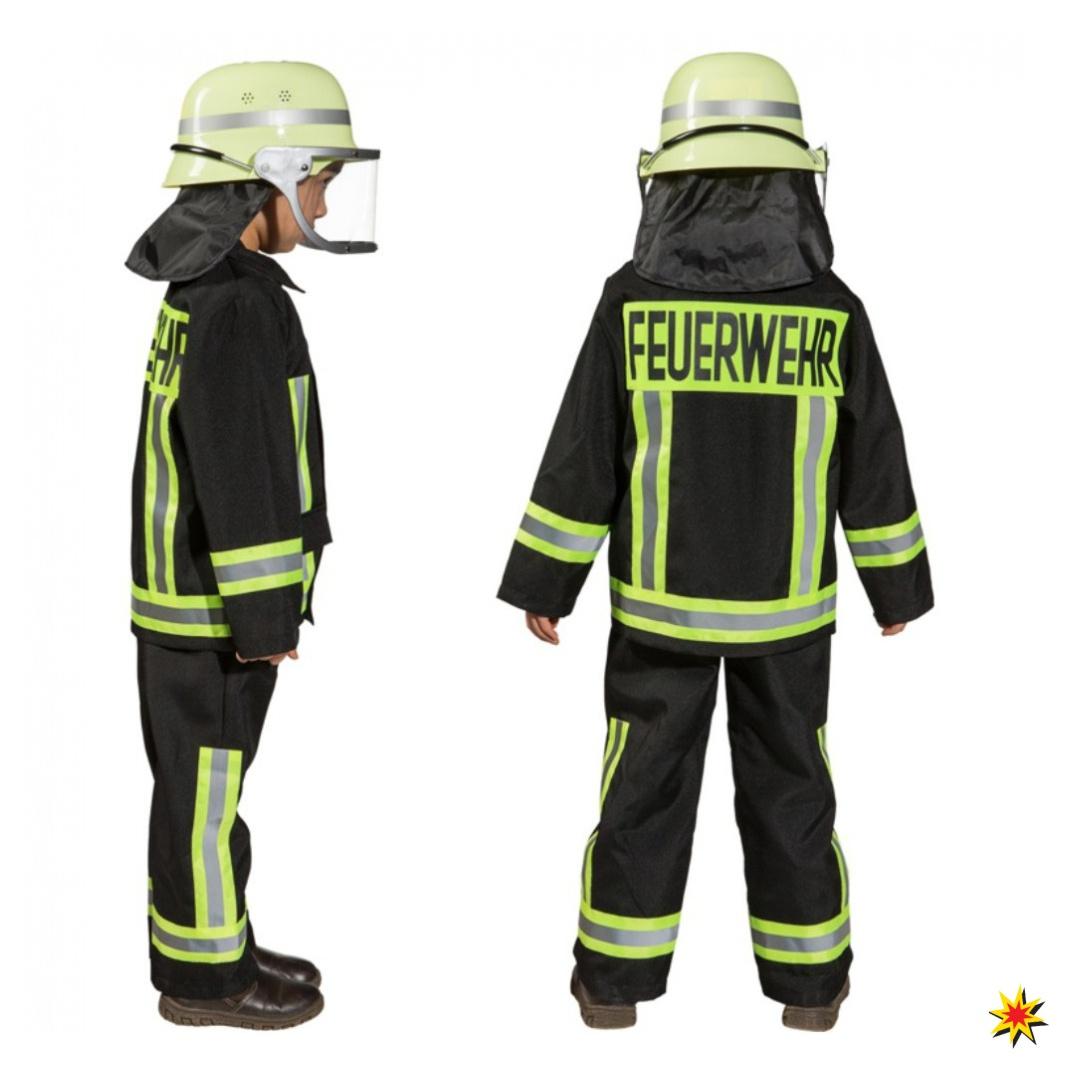 verschiedene Stile der Verkauf von Schuhen Schnäppchen für Mode Kostüm Feuerwehr Junge Samy, Uniform schwarz