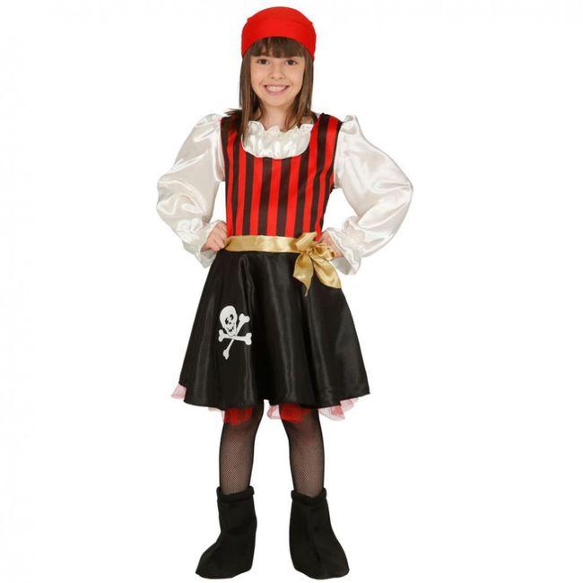 Kinderkostüm Piratin Inka Kleid Seeräuberin Fasching Seefahrerin