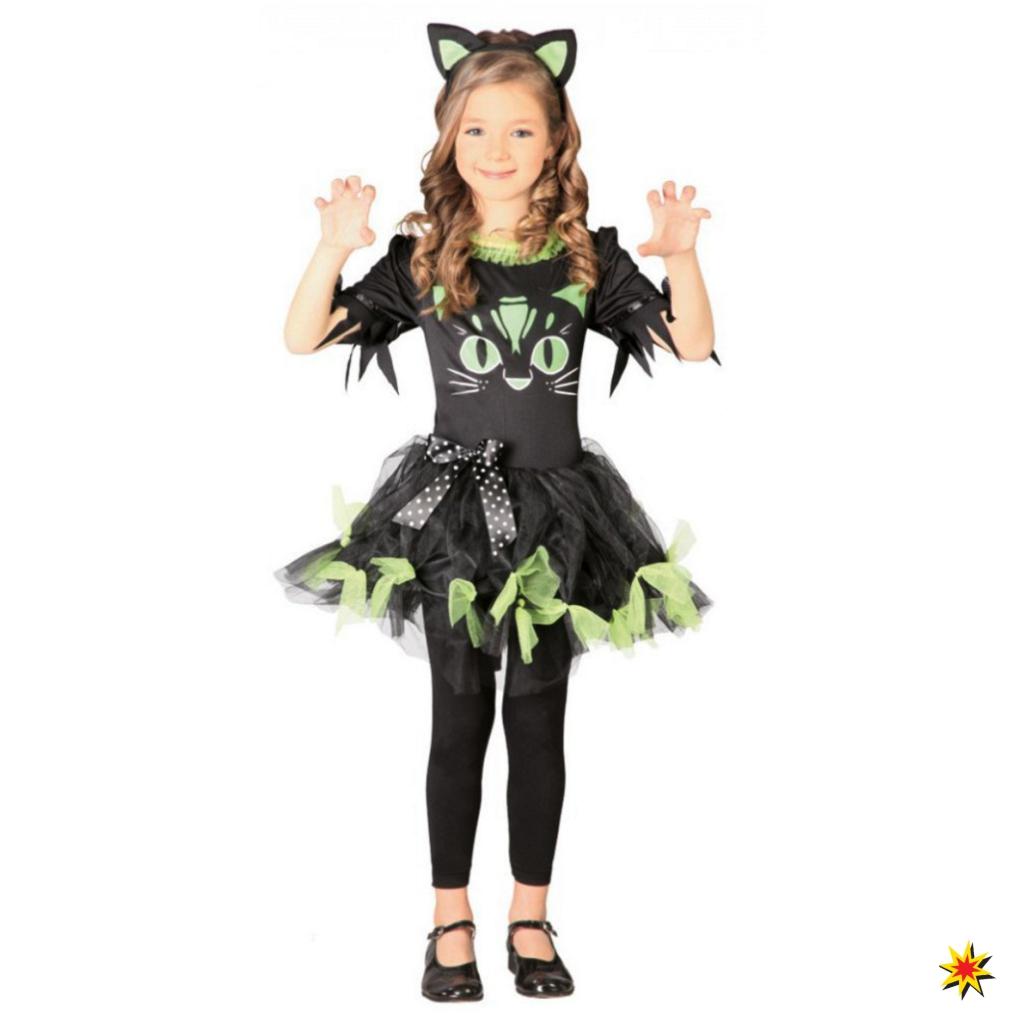 Kostum Schwarze Katze Kitty Kyra Grosse 7 9 Jahre