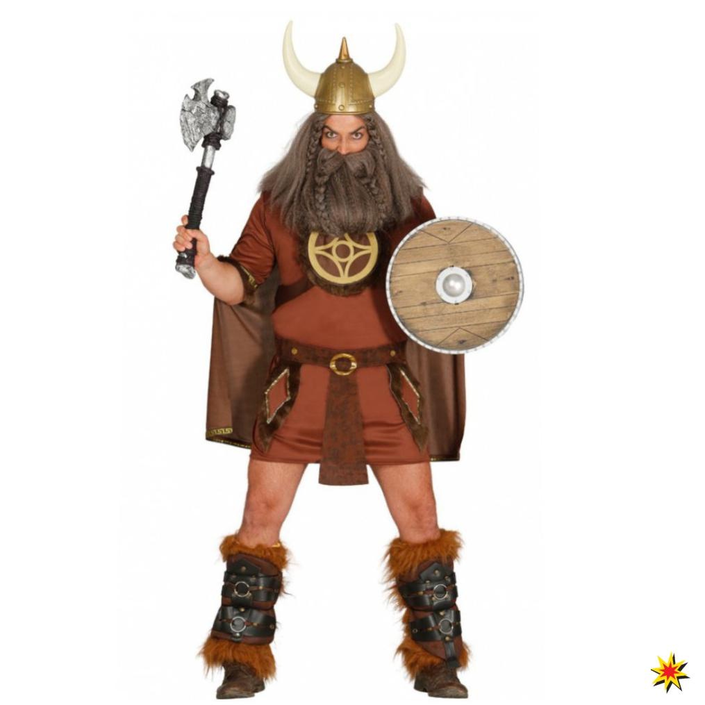Krieger Kostum Wikinger Treufried