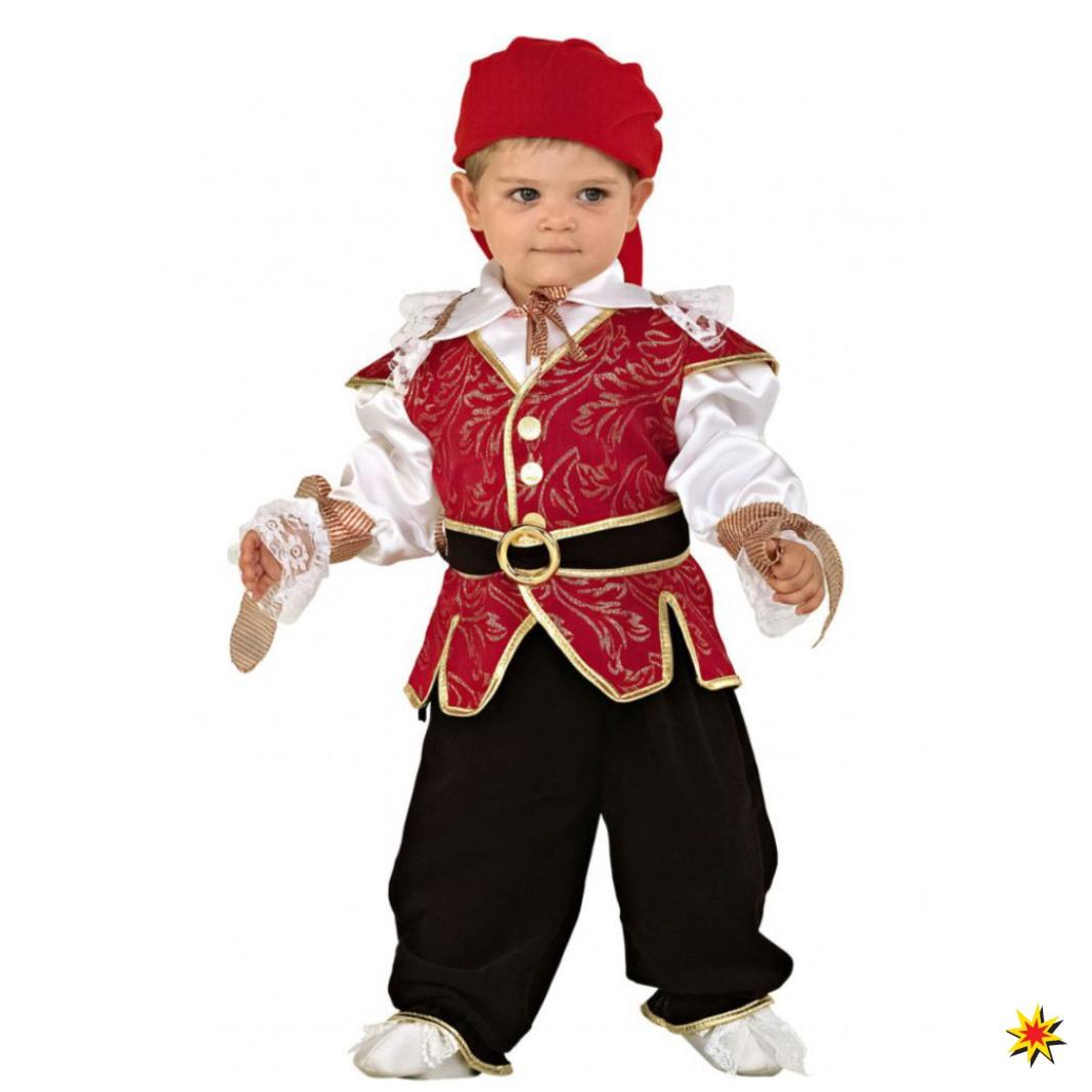 Kinderkostüm Pirat Seefahrer Fasching