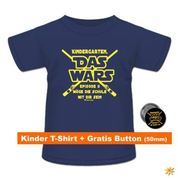 "Shirt mit Button ""Das Wars"", navy"