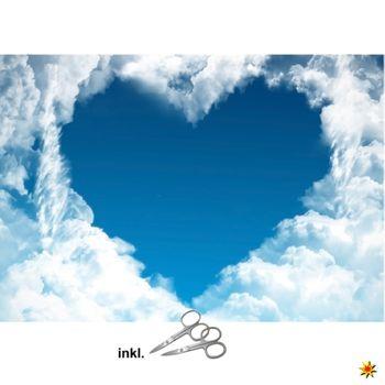 """Herzlaken """"Wolke 7"""" zum Ausschneiden  Hochzeitslaken"""