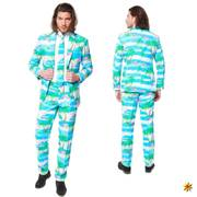 Opposuit Flaminguy, Anzug Flamingo