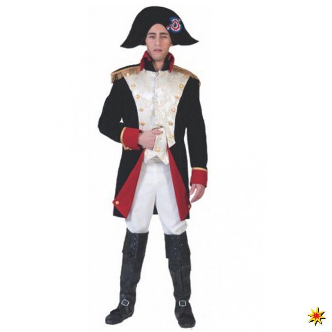 Kostüm Napoleon Mantel Weste Hose Uniform Kaiser Frankreichs Fasching