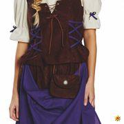 Damen Kostüm Bäuerin Mittelalter Kleidung Magd