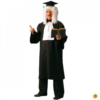 Kostüm Richter Paul, Talar schwarz